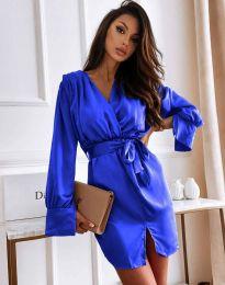 Obleka - koda 2741 - temno modra