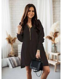 Obleka - koda 6113 - črna