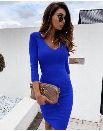 Obleka - koda 4040 - modra