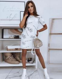 Obleka - koda 2906 - bela