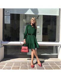 Obleka - koda 960 - тъмно зелен