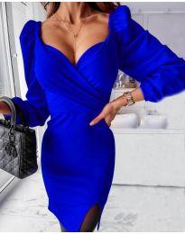 Obleka - koda 2595 temno modra