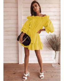 Obleka - koda 3386 - rumena