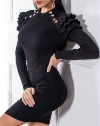 Obleka - koda 9652 - 3 - črna
