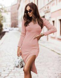 Obleka - koda 6593 - roza