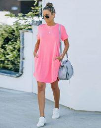 Obleka - koda 38444 - roza