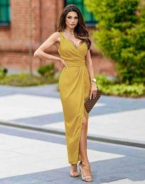 Obleka - koda 6135 - gorčica