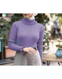 Bluza - koda 6556 - vijolična