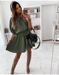 Obleka - koda 5856 - zelena