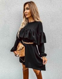 Obleka - koda 6913 - črna