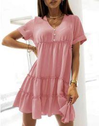 Obleka - koda 7205 - roza