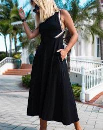 Obleka - koda 70511 - 1 - črna