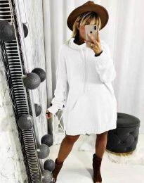 Obleka - koda 2933 - bela