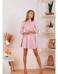 Obleka - koda 6619 - roza