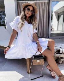 Obleka - koda 6144 - bela