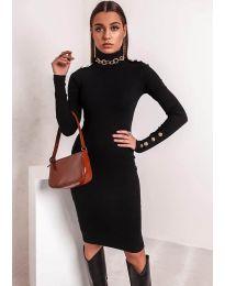 Obleka - koda 11513 - črna