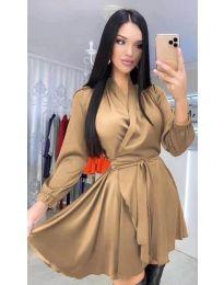 Obleka - koda 5931 - rjava