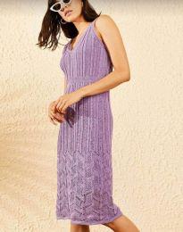 Obleka - koda 0351 - vijolična