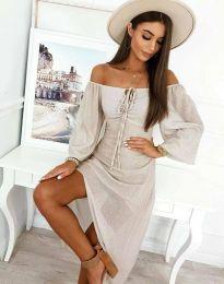 Obleka - koda 2734 - bela