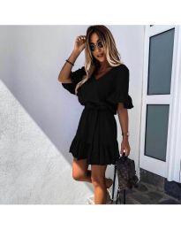 Obleka - koda 2566 - črna