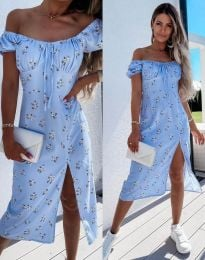 Obleka - koda 2127 - svetlo modra