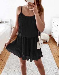 Obleka - koda 8596 - črna