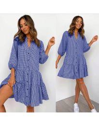 Obleka - koda 965 - modra