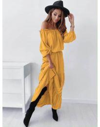 Obleka - koda 1317 - gorčica