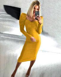 Obleka - koda 3865 - gorčica