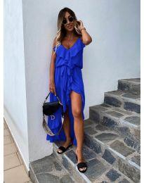 Obleka - koda 0081 - modrá