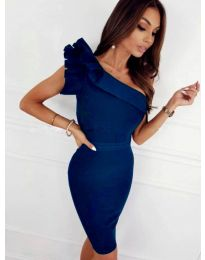 Obleka - koda 2049 - 4 - modra