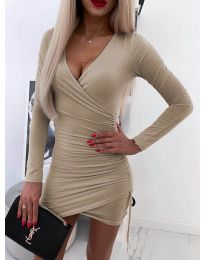 Obleka - koda 5513 - bež