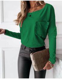 Bluza - koda 4450 - 2 - zelena