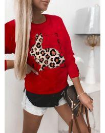 Bluza - koda 4001 - rdeča