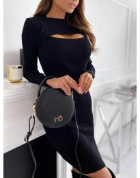 Obleka - koda 4528 - črna