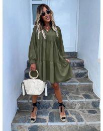 Obleka - koda 6643 - olivna