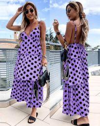 Obleka - koda 8192 - vijolična