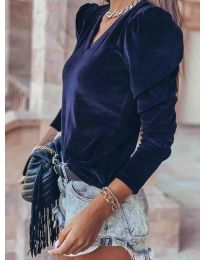 Bluza - koda 0755 - temno modra