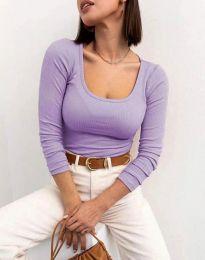Bluza - koda 11662 - vijolična