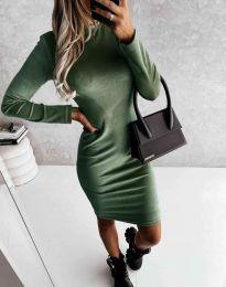 Obleka - koda 9368 - olivna