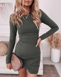 Obleka - koda 2835 - olivna