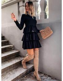 Obleka - koda 2951 - črna