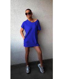 Obleka - koda 3080 - temno modra