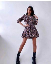 Obleka - koda 5910 - 4 - večbarvna