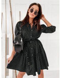 Obleka - koda 5557 - črna