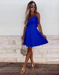 Obleka - koda 2739 - temno modra