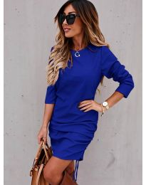 Obleka - koda 8293 - temno modra