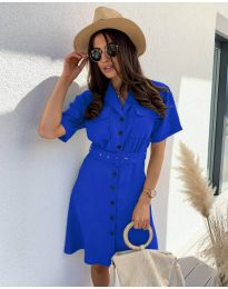 Obleka - koda 742 - modrá