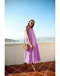 Obleka - koda 8810 - vijolična