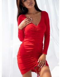 Obleka - koda 12069 - rdeča